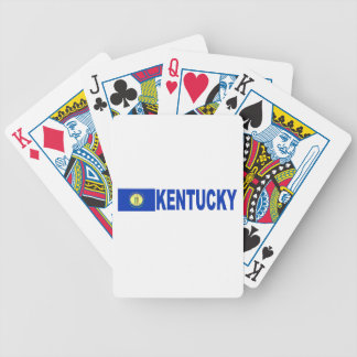 Kentucky Bicycle Poker Cards