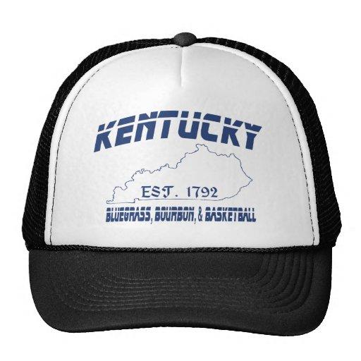 Kentucky Bluegrass Bourbon Basketball UScustomInk Hats