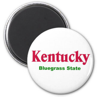 Kentucky-Bluegrass State Magnet