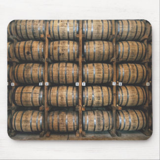Kentucky Bourbon Barrels Mouse Mat