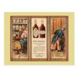 Kentucky Bourbon Uncle Sam Prohibition Postcards