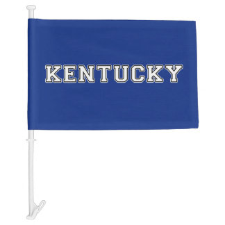 Kentucky Car Flag