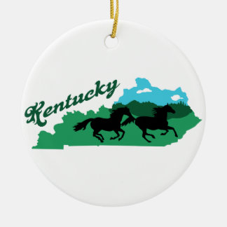Kentucky Christmas Ornament