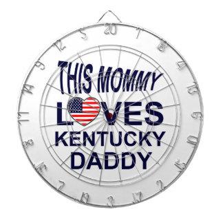 Kentucky design dartboard