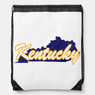Kentucky Drawstring Bag