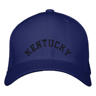 Kentucky Embroidered Baseball Cap/Hat Embroidered Hat