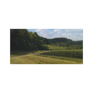 Kentucky Farm Canvas Print