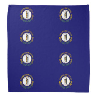 Kentucky flag bandana