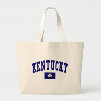 Kentucky Flag Large Tote Bag