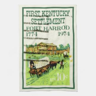 Kentucky Fort Harrod Hand Towel