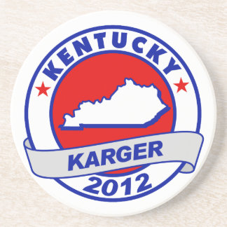 Kentucky Fred Karger Drink Coasters