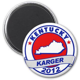 Kentucky Fred Karger Fridge Magnet