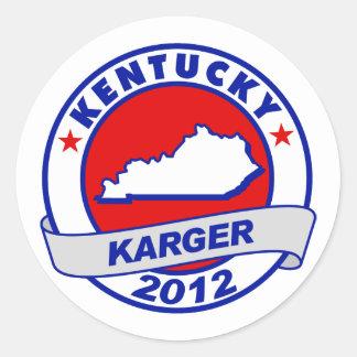 Kentucky Fred Karger Sticker