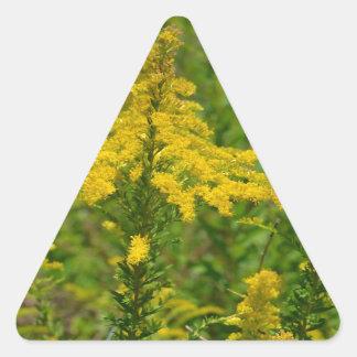 Kentucky Goldenrod Triangle Sticker