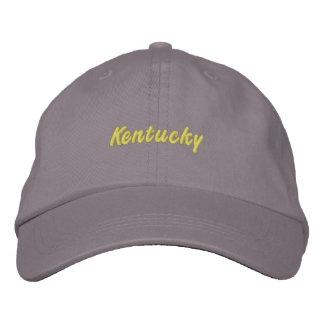 Kentucky Hat Embroidered Baseball Cap