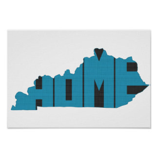 Kentucky Home State Poster