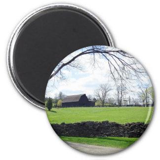 Kentucky Horse Farm 6 Cm Round Magnet