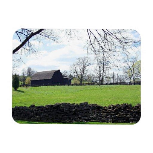 Kentucky Horse Farm Flexible Magnet