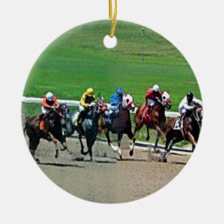 Kentucky Horse Racing Christmas Ornaments
