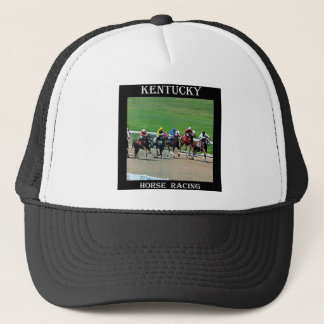 Kentucky Horse Racing Trucker Hat