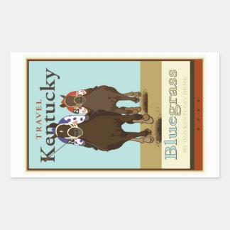 Kentucky II Rectangular Sticker