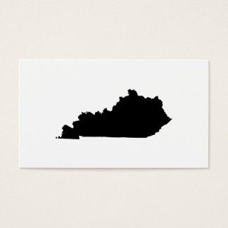 Kentucky in Black and White Business Card