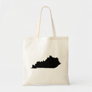 Kentucky in Black and White Tote Bag