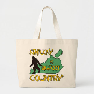 Kentucky Is Bigfoot Country Canvas Bag
