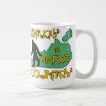 Kentucky Is Bigfoot Country Mugs
