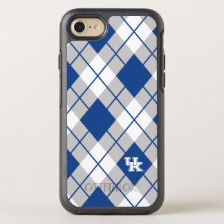 Kentucky | Kentucky Argyle Pattern OtterBox Symmetry iPhone 8/7 Case