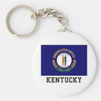 Kentucky Key Ring
