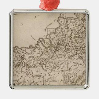 Kentucky Map by Arrowsmith Christmas Ornament