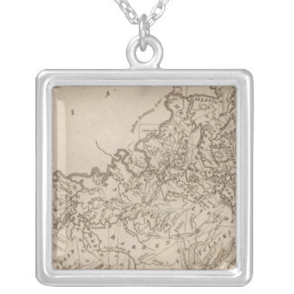 Kentucky Map by Arrowsmith Silver Plated Necklace