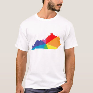 kentucky pride. angled. T-Shirt