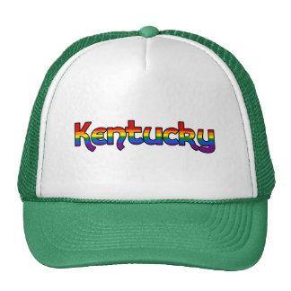 Kentucky Rainbow text Hat