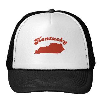 KENTUCKY Red State Trucker Hats