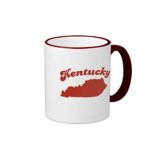 KENTUCKY Red State Coffee Mug