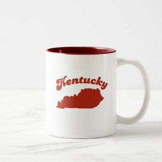 KENTUCKY Red State Two-Tone Mug