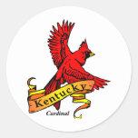 Kentucky State Bird Classic Round Sticker