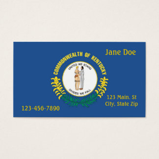 Kentucky State Business Card