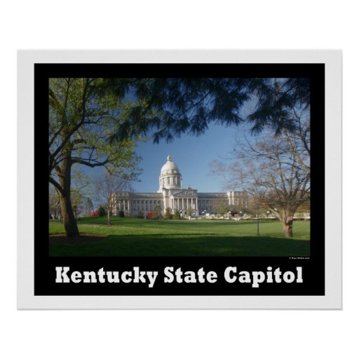 KENTUCKY STATE CAPITOL POSTER
