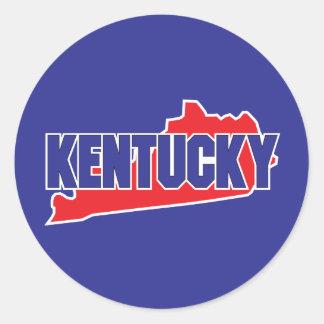 Kentucky State Classic Round Sticker