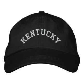 Kentucky State Embroidered Embroidered Hat