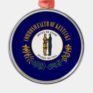kentucky state flag united america republic symbol christmas ornament