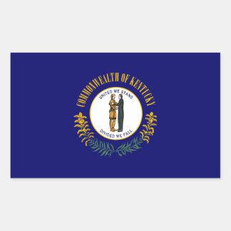 kentucky state flag united america republic symbol rectangular sticker