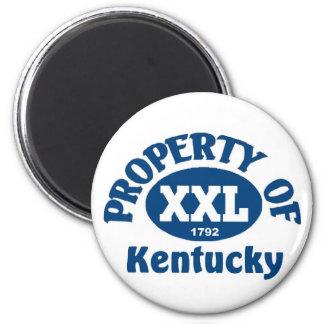 Kentucky State Refrigerator Magnet