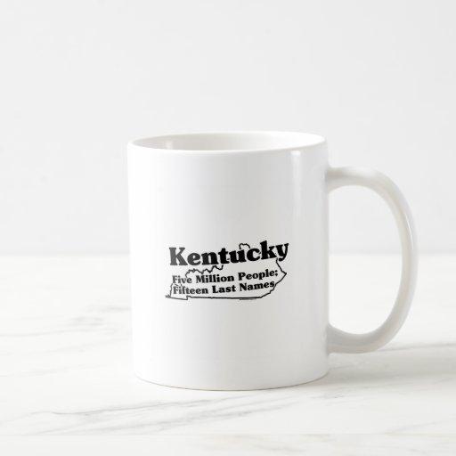 Kentucky State Slogan Classic White Coffee Mug