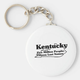 Kentucky State Slogan Key Ring
