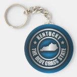 """""""Kentucky Steel (Blue)"""" Key Chain"""