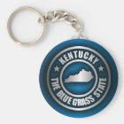 """""""Kentucky Steel (Blue)"""" Key Ring"""